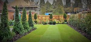 Linden Homes, Felbridge. Show Home Garden