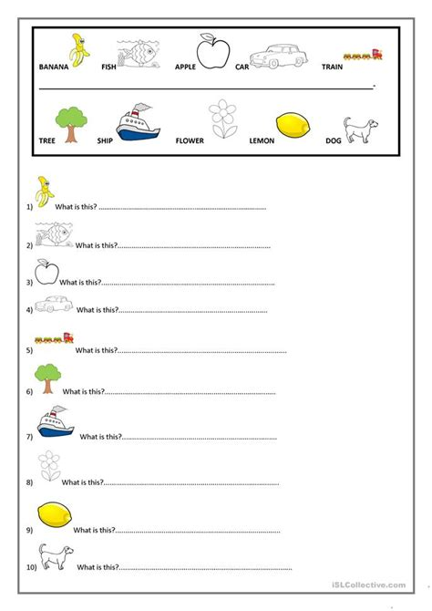 What Is This Worksheet  Free Esl Printable Worksheets Made By Teachers