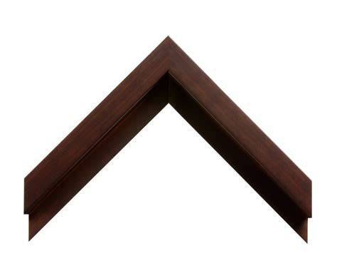molding and trim 2 1 2 quot espresso stain floater picture frame moulding