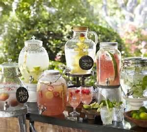 flower pot favors água aromatizada