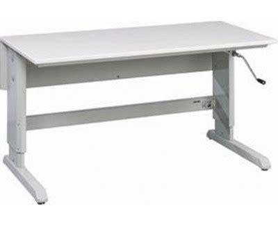table hauteur réglable table atelier reglable hauteur