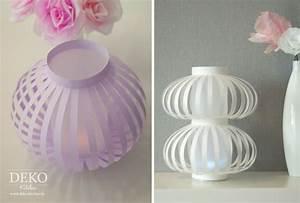 Deko Aus Papier : diy laternen lampions aus papier selber machen deko ~ Lizthompson.info Haus und Dekorationen