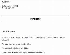 Overdue invoice reminder template denryokuinfo for Unpaid invoice email template