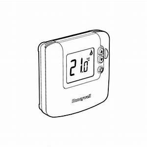 Honeywell Dt90e Digital Room Thermostat