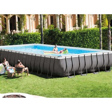 piscine tubulaire rectangulaire intex ultra xtr frame