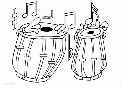 Coloring Pages Printable Notes Note Musical Cool2bkids