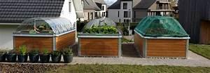 Garten hochbeetch das langlebige hochbeet und fruhbeet for Garten planen mit balkon alu holzoptik