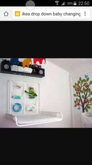 wall mounted baby changing table ikea ikea antilop wall mounted changing table brand new for