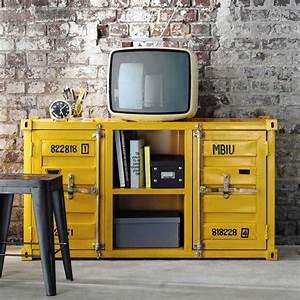 bureau industriel maison du monde latest collection With meuble tv maisons du monde 11 un bureau traditionnel