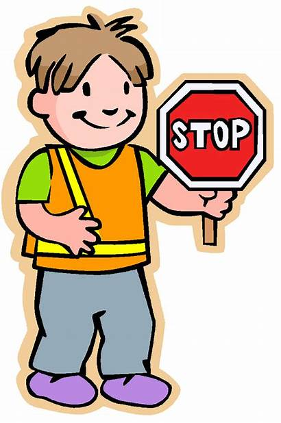 Safety Patrol Clipart Clip Crossing Guard Safe