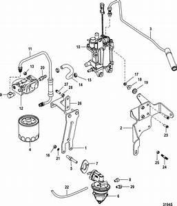 Mercruiser 3 0l Mpi Ec Fuel Supply System Parts