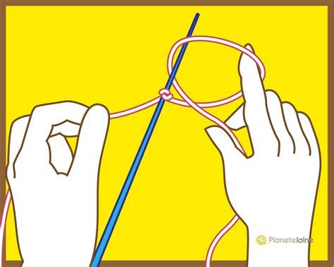 monter des mailles tricot tricot crochet plan 232 te tuto monter les mailles avec 1 aiguille