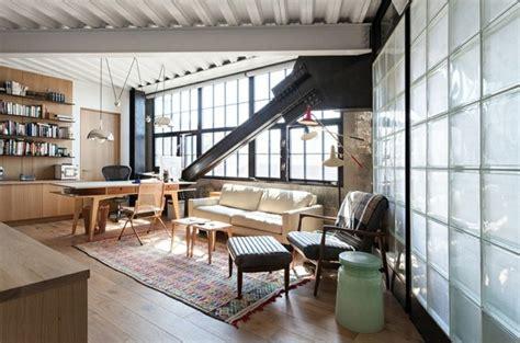 bureau maison de style industriel  moderne