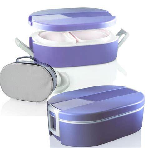 contenitori termici per alimenti caldi lunchbox termico ovale per alimenti con vaschette interne