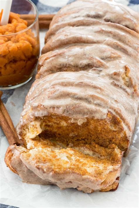 easy pumpkin pumpkin pull apart loaf crazy for crust