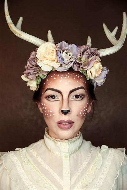 Makeup Halloween Easy Deer Fawn Costume Tutorial