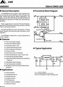 Ame8804 Datasheet   S Manuals Com  Rk 04 Ame