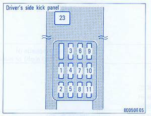 Toyota Solara 2002 Dash Fuse Box  Block Circuit Breaker