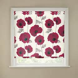 kitchen blinds ideas uk homebase poppy roller blind 120cm