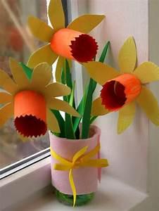 Bricolage Facile En Papier : bricolage fleur facile my blog ~ Mglfilm.com Idées de Décoration