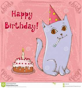 Cute Happy Birthday Cat Pictures | Jerzy Decoration