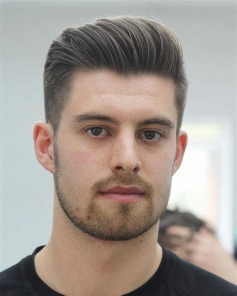 hairstyles  egg shaped head fade haircut