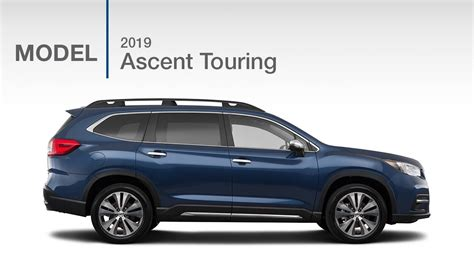 subaru ascent touring suv model review youtube