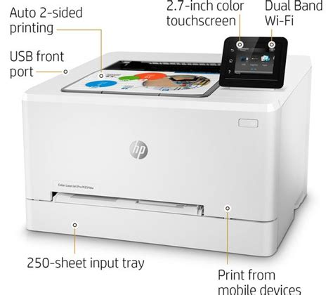 color laser printer deals hp colour laserjet pro m254dw wireless laser printer deals