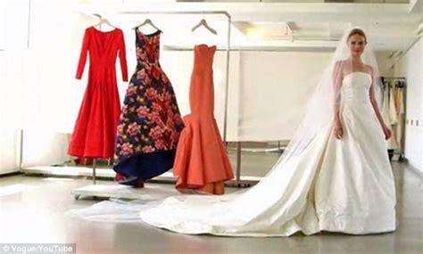 oscar de la renta wedding dress inside kate bosworth and oscar de la renta 39 s intimate wedding dress fitting daily mail