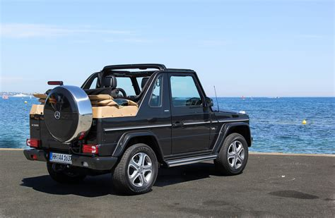 Mercedes G Class Cabriolet by Hire Mercedes G500 Cabriolet Edition Rent
