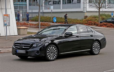 Mercedes E Class Photo by 2017 Mercedes E Class Spied In Black With Even Less