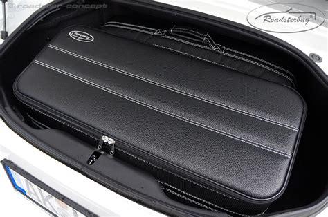 roadsterbag koffer fuer fiat  spider abarth kofferset