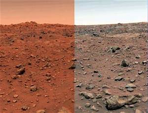 Why 'NASA tampers the true colors of Mars