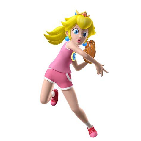 Image Mario Superstar Baseball Peach 01