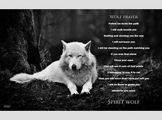 Wolf prayer Other & Animals Background Wallpapers on