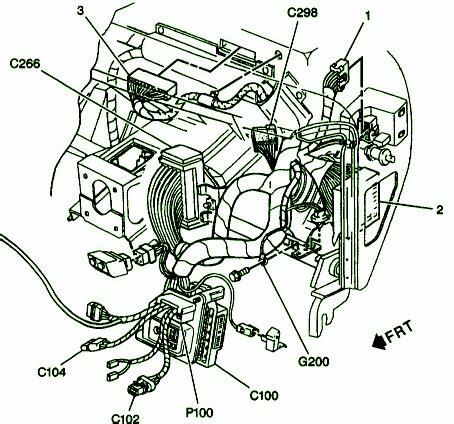 Chevy Tahoe Engine Diagram Automotive Parts