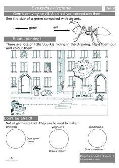 everyday hygiene worksheets images worksheets