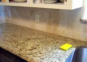 Older and wisor painting a tile backsplash and more easy for Painting backsplash tiles in kitchen