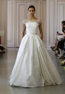 oscar de la renta wedding dress chic vintage brides With wedding dresses in la