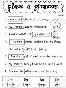 15 Best Images Of Possessive Pronouns Worksheets Printable