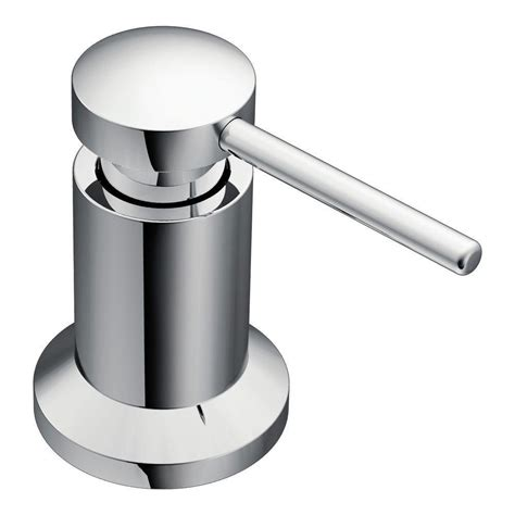 built in soap dispenser for kitchen sink moen 3942 kitchen soap and lotion dispenser chrome in 9780