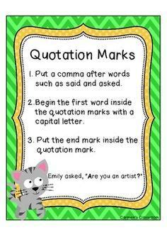 grammar quotation marks images quotation marks