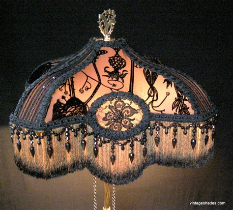 Victorian Beaded Lamps by Antique Floor Lamp Victorian Shade For Picture To Pin On
