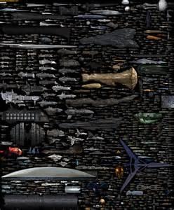 Spaceship Size Comparison » ChartGeek.com