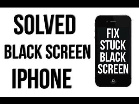 how to fix iphone 5c black screen black screen fix solved iphone 4 4s 5 5s 5c 6 6s