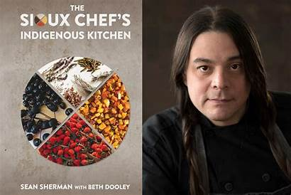 Indigenous Chef American Sioux Sherman Sean North