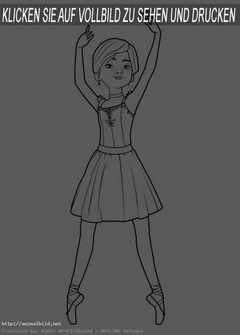 ballerina  ausmalbild