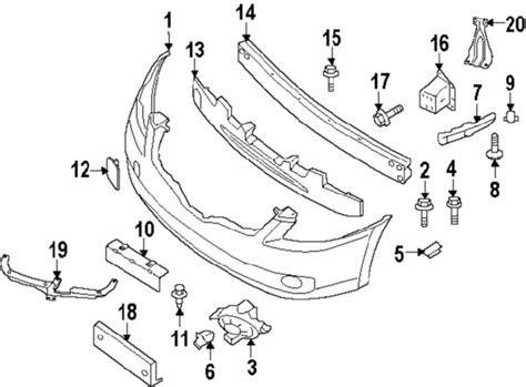 Nissan Altima 2010 Engine Diagram by Parts 174 Nissan Altima Cowl Oem Parts