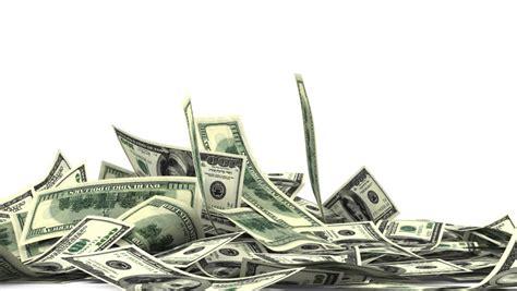 An Array Of One Hundred Australian Dollar Bill Notes