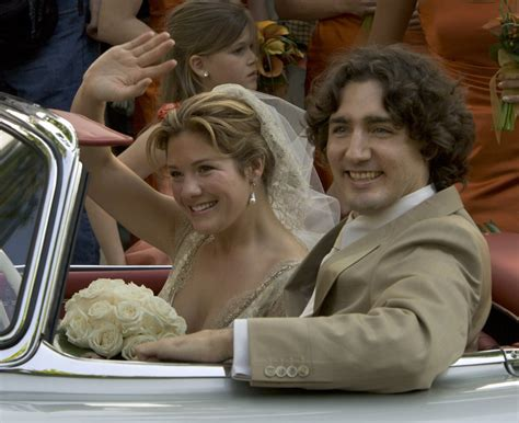 Justin Trudeau and Sophie Wedding